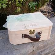 Valisette en bois personalisable