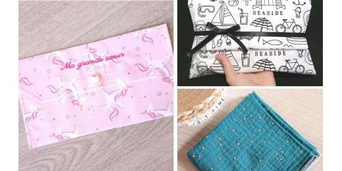 Emballages en tissu personnalisables : zéro déchet original et utile !