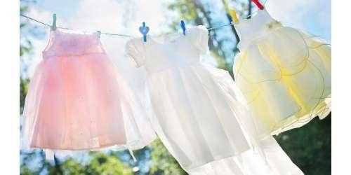 Soin du linge de bébé, couches lavables, détachant, savon de Marseille solide et lessive