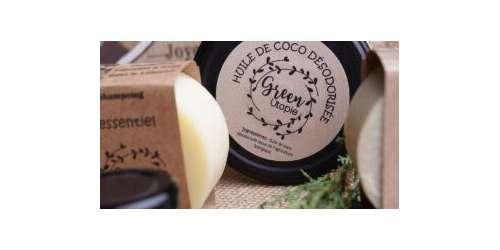 Savons solides et huile de coco spéciaux peaux sensibles, famille ZD...