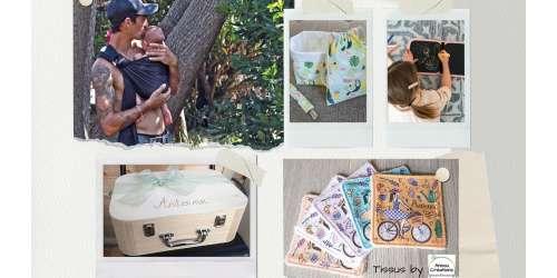 Cadeaux pour les familles nomades, conçus et confectionnés et par Annou