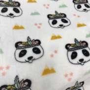 Tête panda indien